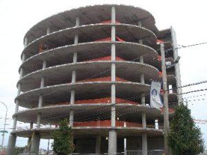 edificio concreto postensado